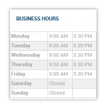 WP Business Hours
