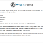 Easy way to Install WordPress