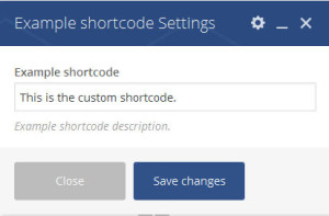How to add custom shortcodes