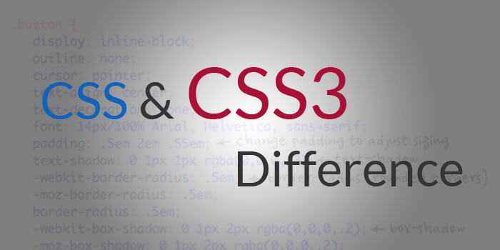 Difference between CSS and CSS3